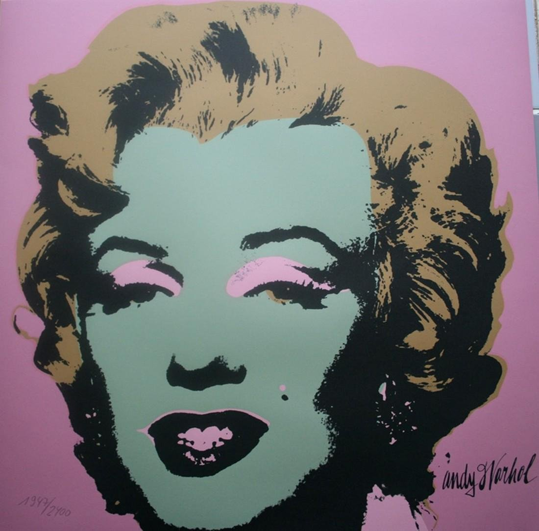 Series of 10 Marilyn Monroe (1967), Granolithograph - - 10