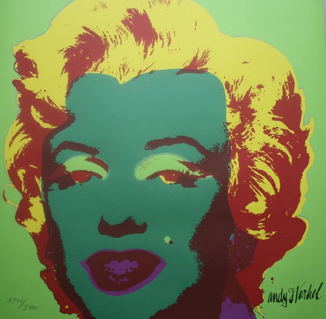 Series of 10 Marilyn Monroe (1967), Granolithograph - - 11