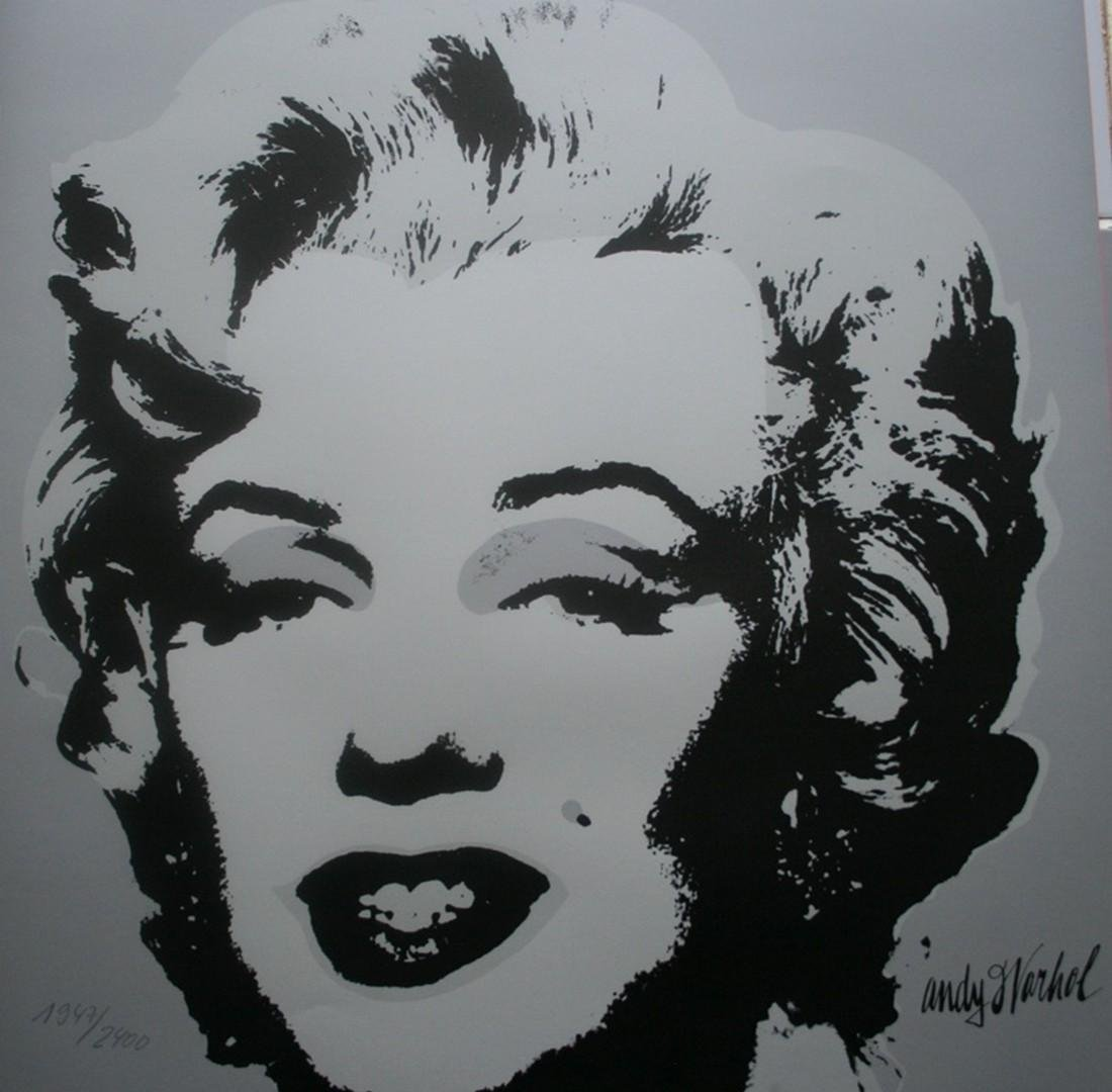 Series of 10 Marilyn Monroe (1967), Granolithograph - - 12