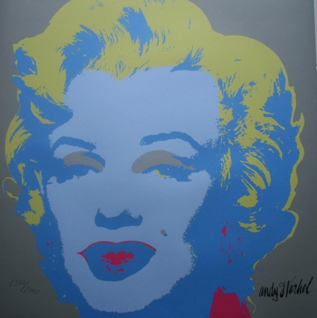 Series of 10 Marilyn Monroe (1967), Granolithograph - - 13