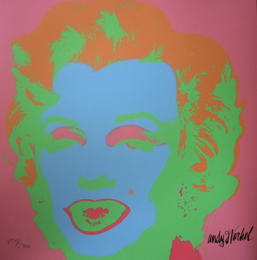 Series of 10 Marilyn Monroe (1967), Granolithograph - - 2
