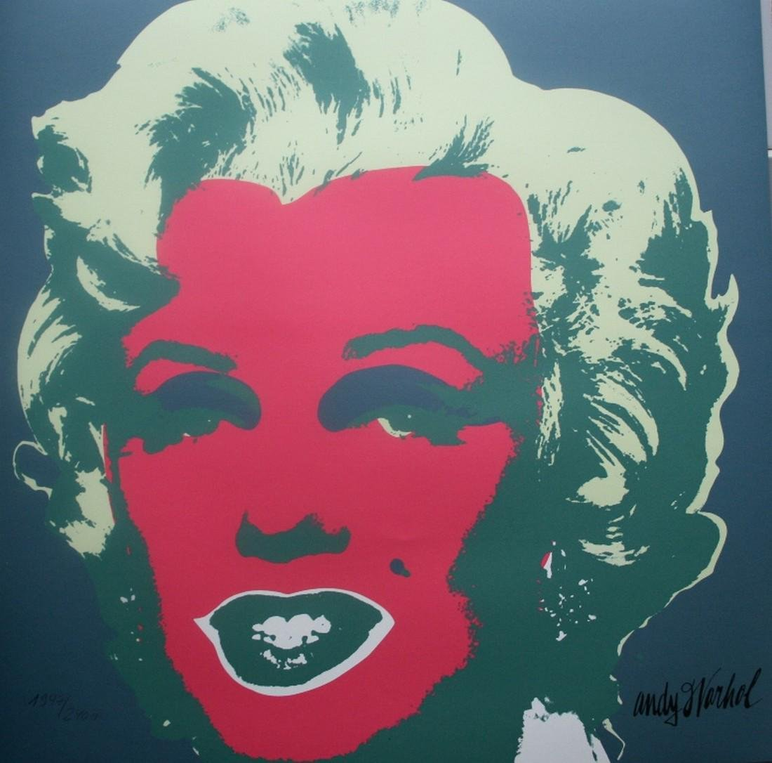 Series of 10 Marilyn Monroe (1967), Granolithograph - - 4