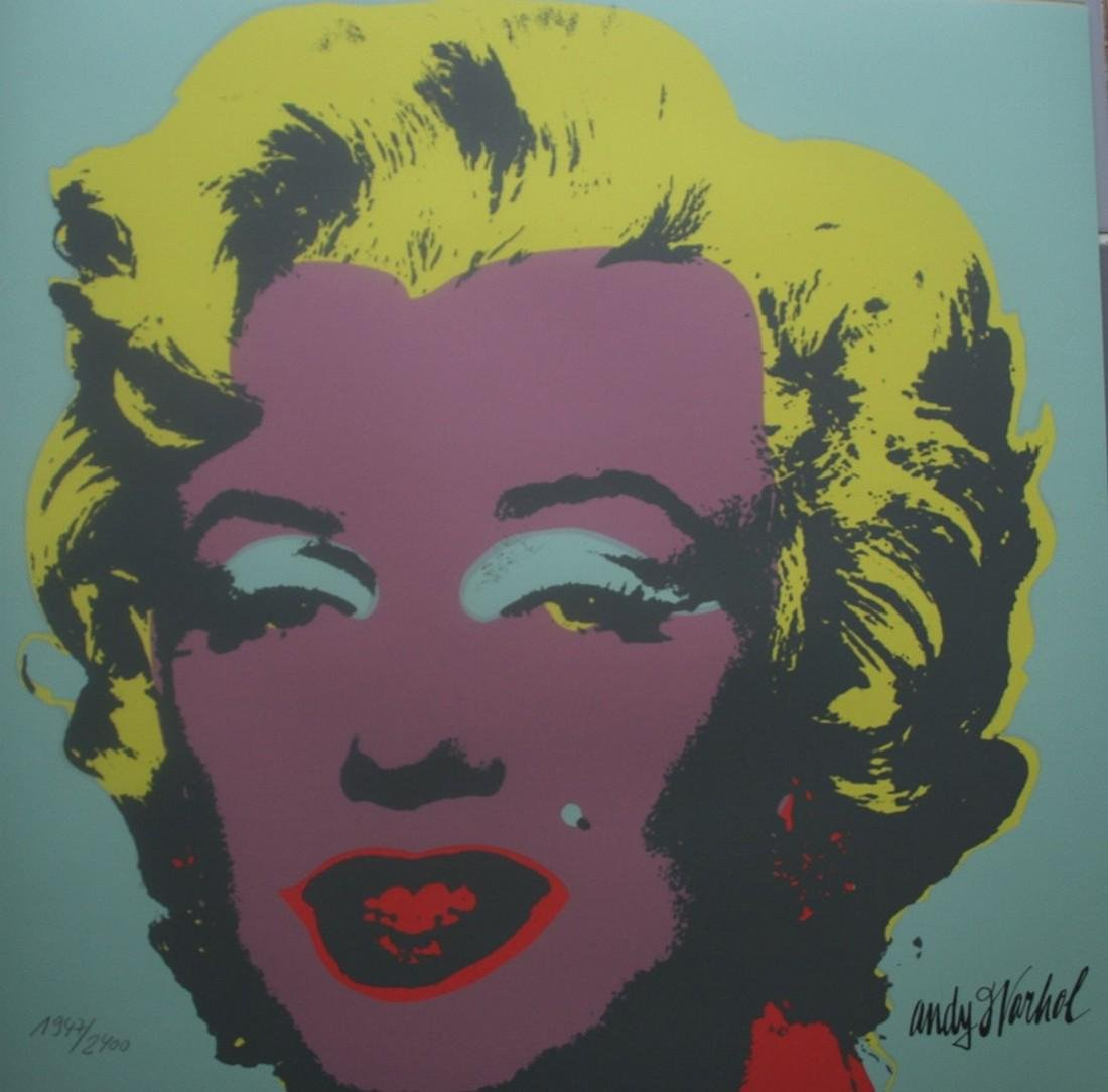 Series of 10 Marilyn Monroe (1967), Granolithograph - - 5