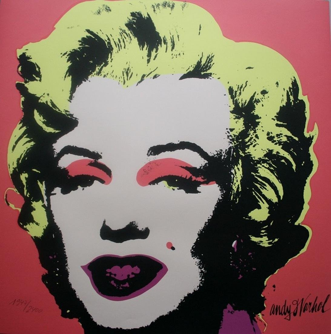 Series of 10 Marilyn Monroe (1967), Granolithograph - - 6