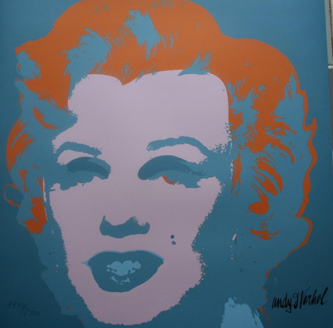 Series of 10 Marilyn Monroe (1967), Granolithograph - - 8