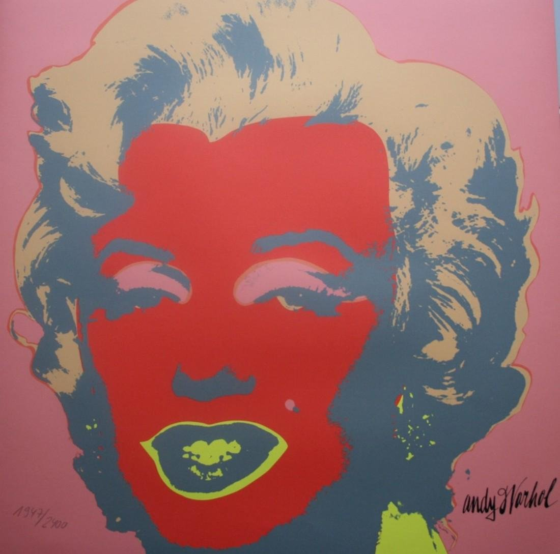 Series of 10 Marilyn Monroe (1967), Granolithograph - - 9