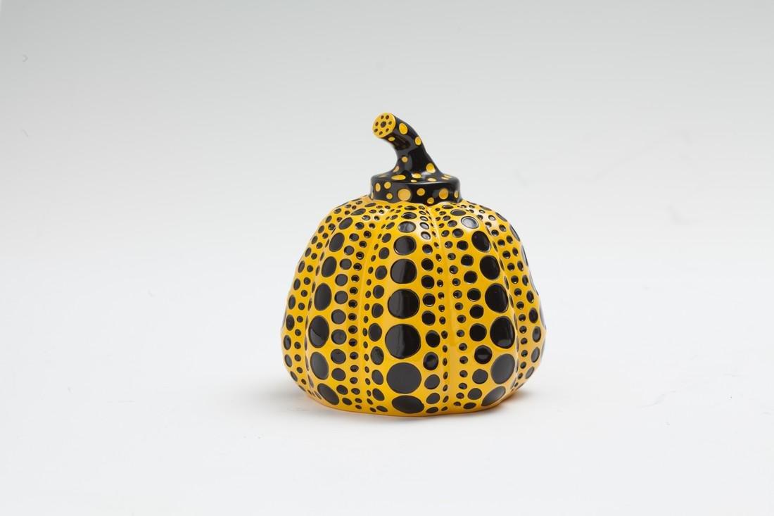 Pumpkin, Object (Yellow/Black) -  Yayoi Kusama