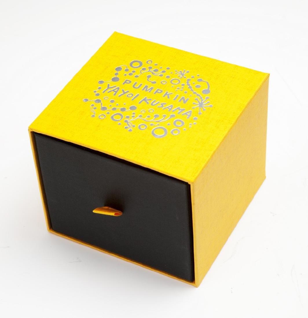Pumpkin, Object (Yellow/Black) -  Yayoi Kusama - 3
