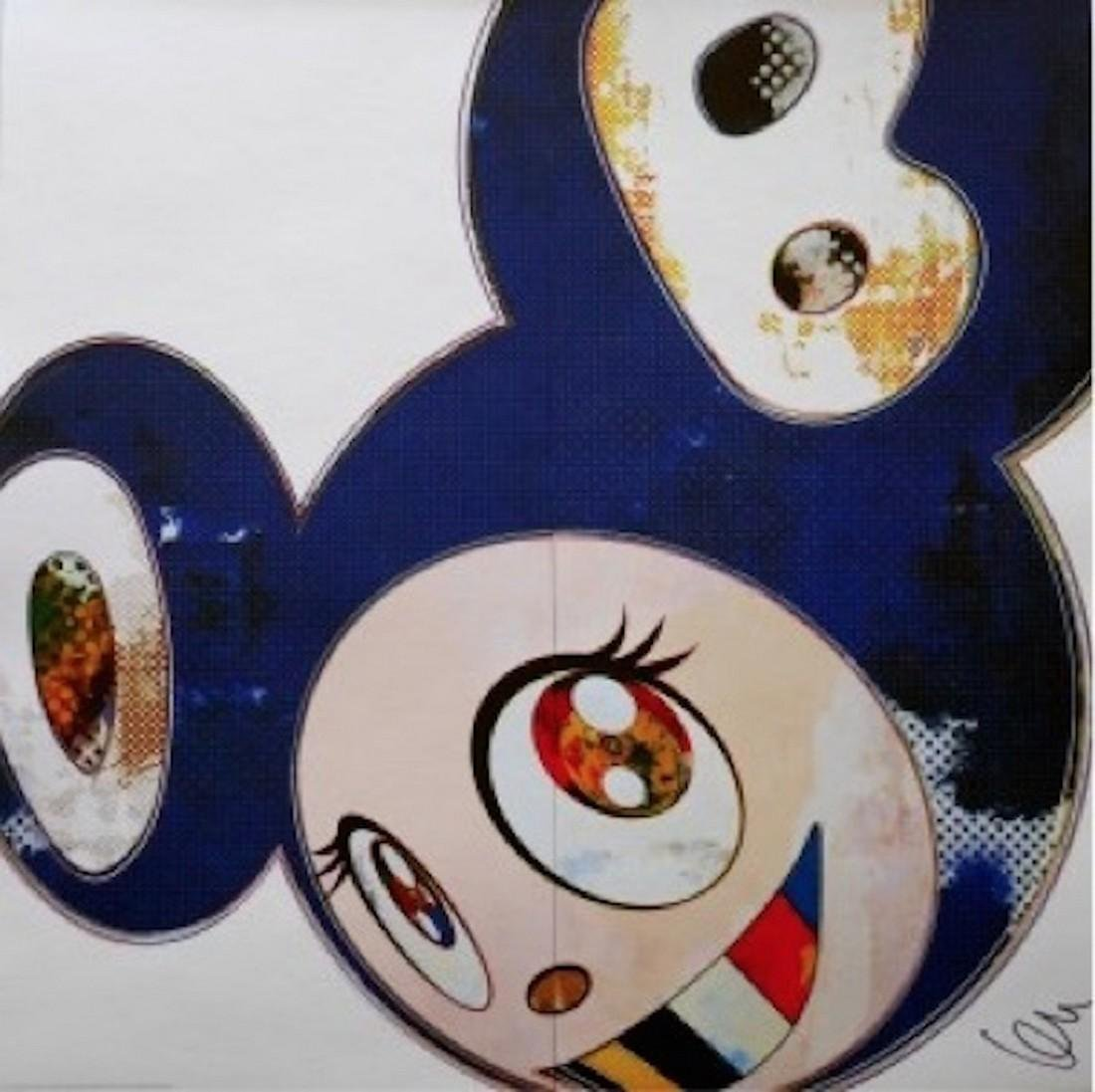 And Then 3000 Blue - Takashi Murakami