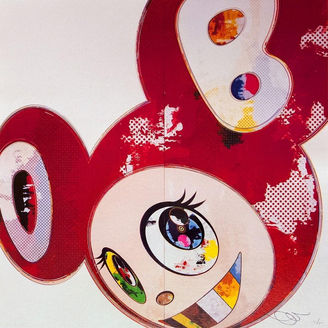 And Then 3000 Red - Takashi Murakami