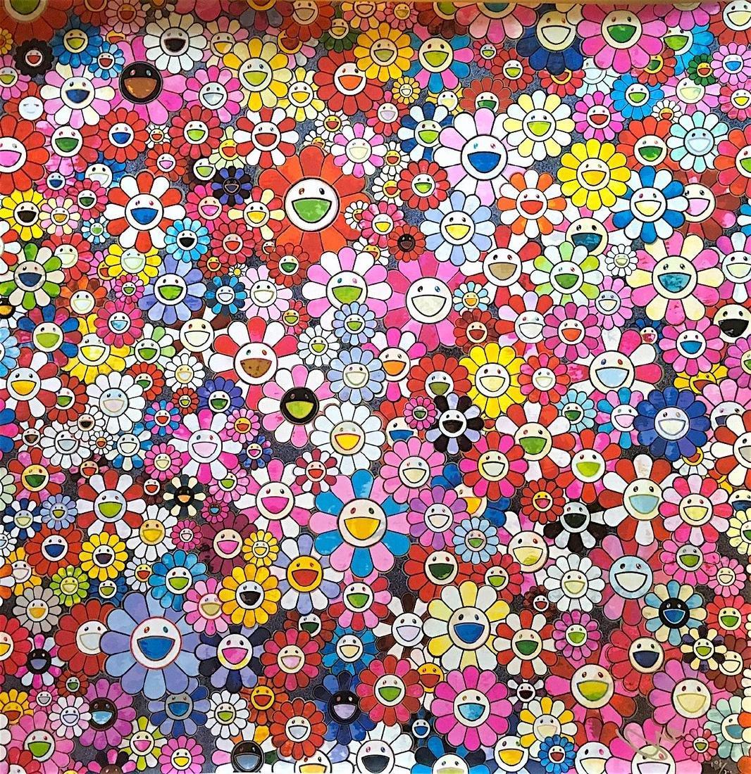 Shangri La Pink - Takashi Murakami