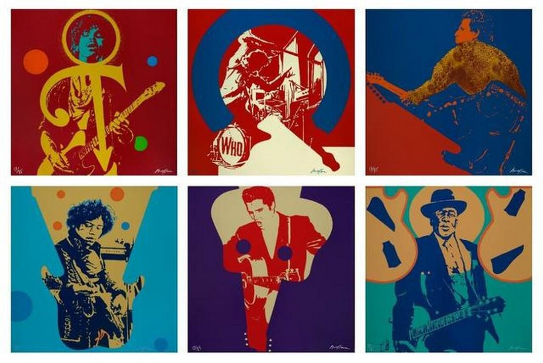 My Generation, 6 signed screenprints - Ivan Messac
