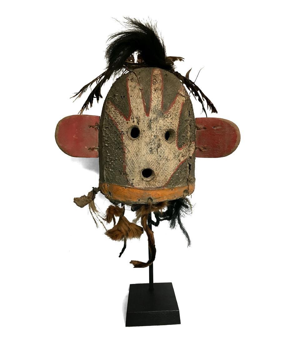 Sivu ?ikwiwtaqa Kachina mask / Masque Sivu ?ikwiwtaqa