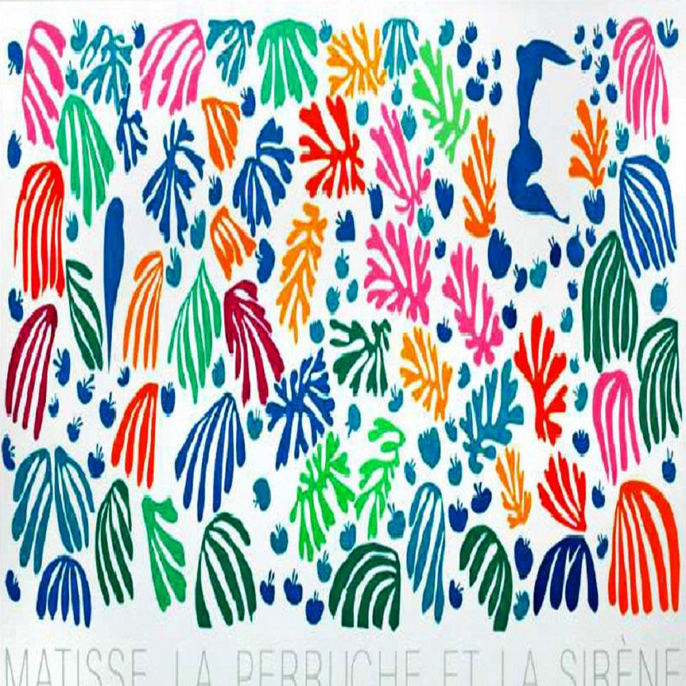 La perruche et la sirene-Henri Matisse