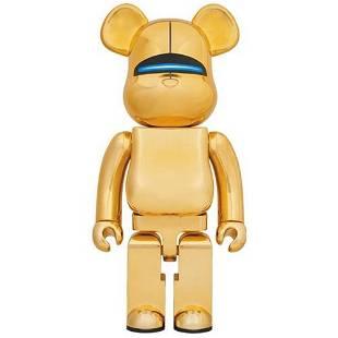 Sorayama Sexy Robot 1000% GOLD-Be@rbrick