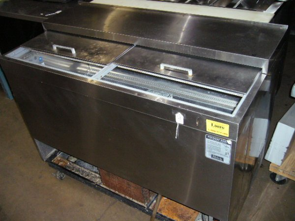 "68: Perlick 2dr. 48"" Bottle Cooler"