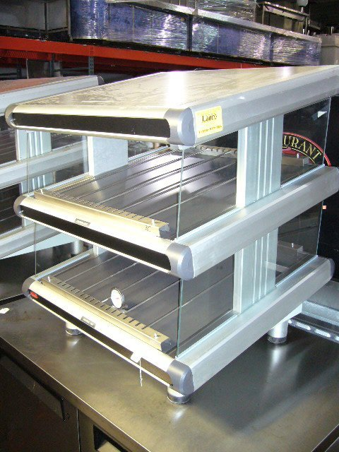 76: Hatco GR2SDS-24D C/T 2 Shelf Heated Slide Glo-Ray D