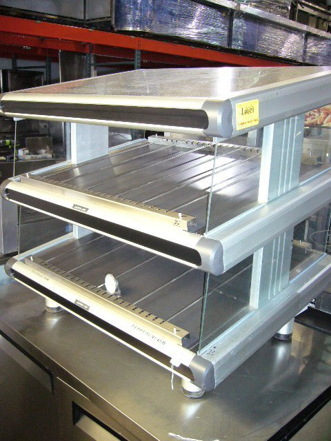 77: Hatco GR2SDS-24D C/T 2 Shelf Heated Slide Glo-Ray D