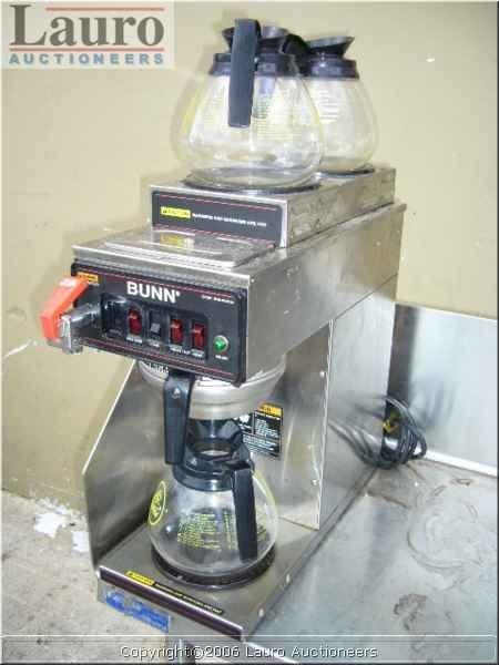 113C: Bunn CW Series 3 Pot Coffee Machine