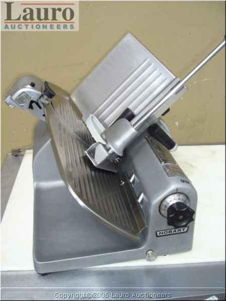 "120C: Hobart 1612E 12"" Manual Slicer"