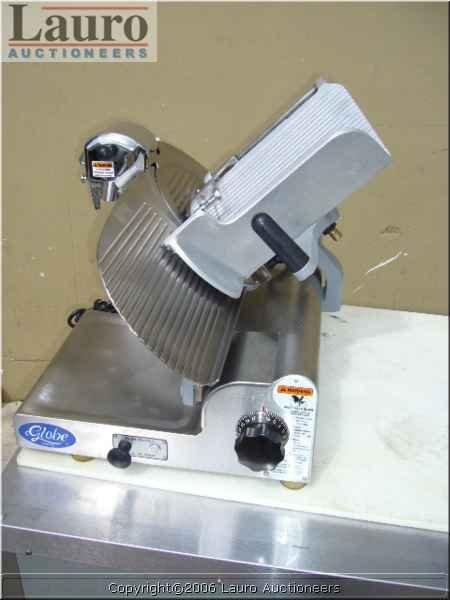 "124C: Globe 3600 12"" S/S Gear Driven Manual Slicer"