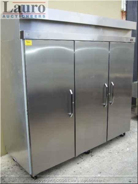 126C: Hobart DAF3 3dr. S/S Freezer