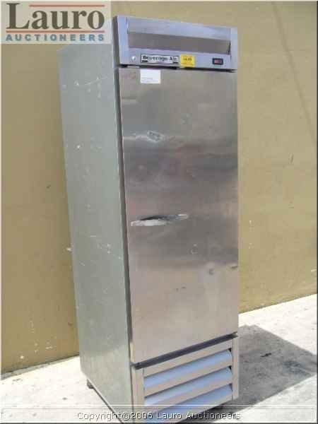 130C: Beverage Air KR24-1AS 1dr. S/S Cooler