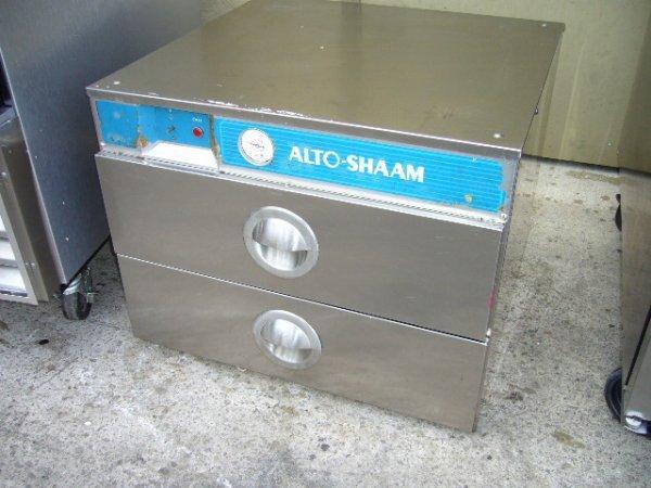 2F: Alto-Shaam 500-2D 2dr. S/S Bread Warmer