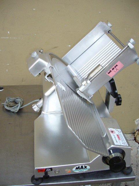 """5F: Univex MAX 12"""" Manual Slicer"""