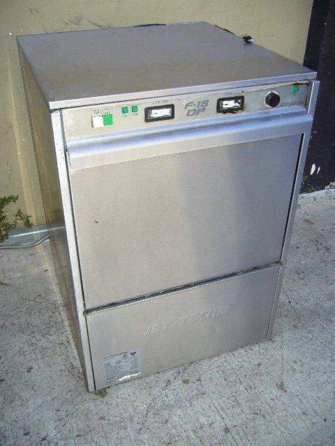 10F: Jet Tech F-18DP High Temp. U/C Dishwasher