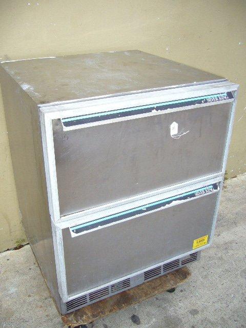"""11F: Silver King 27"""" 2 Drawer U/C Cooler"""