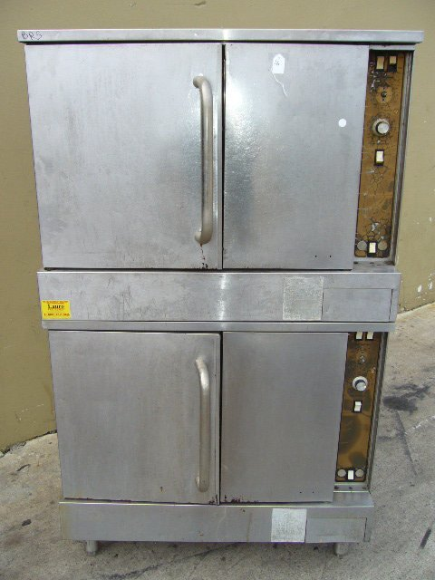 16F: Doublestack Gas Convection Oven