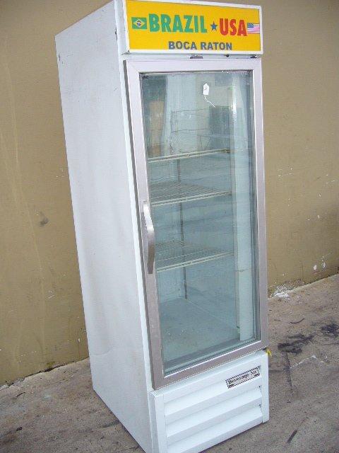 18F: Beverage Air CFG24-1 1dr. Glass Display Freezer
