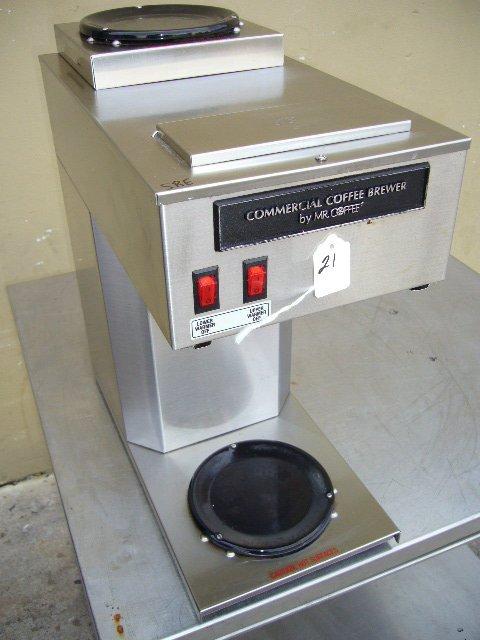 21F: Mr. Coffee MRCTB Commercial Coffee Machine
