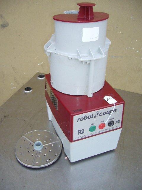 23F: Robot Coupe R2N 3qt. Food Processor