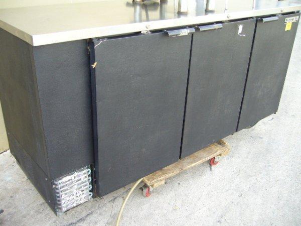 """25F: Beverage Air BB78-1 3dr. 79"""" Back Bar Cooler"""