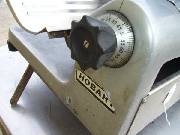 "64F: Hobart 1612 12"" Manual Slicer - 2"