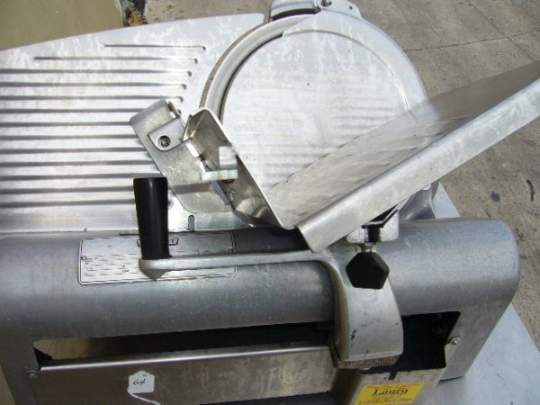 "64F: Hobart 1612 12"" Manual Slicer - 3"