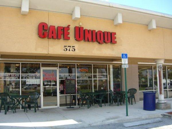 """1H: Café Unique """"Like New"""" Sandwich Shop & Pizzeria"""