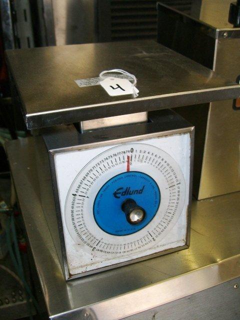 4: Edlund SR-5 Manual Portion Control Scale