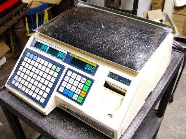 13: CAS LP1000 Lable Printing Scale