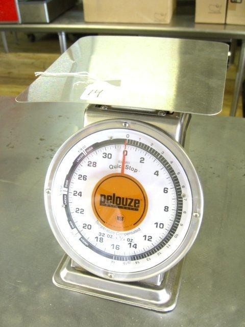 14: New Pelouze 832SRD Heavy Duty Scale