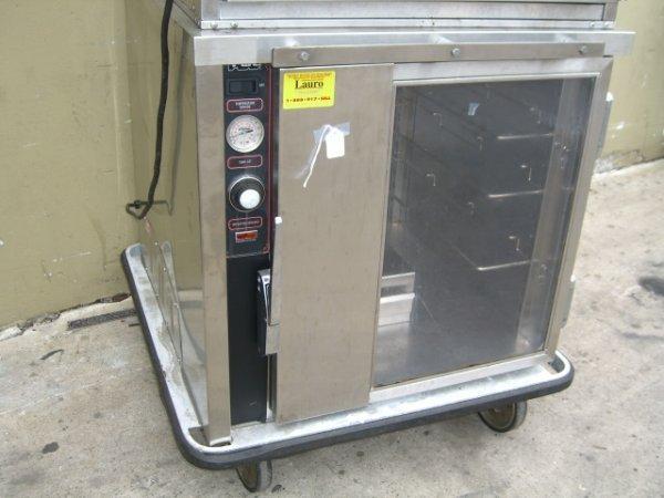16: FWE UHS-4 1 Door S/S Heated Cabinet