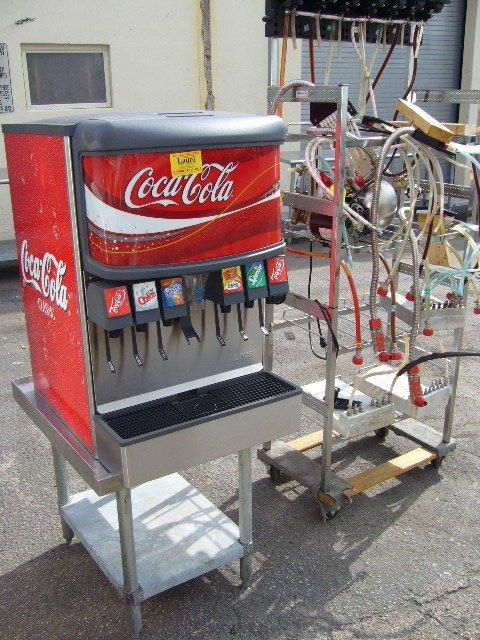 20: Lancer 6 Flavor Soda/Ice Dispenser w/Pump Station