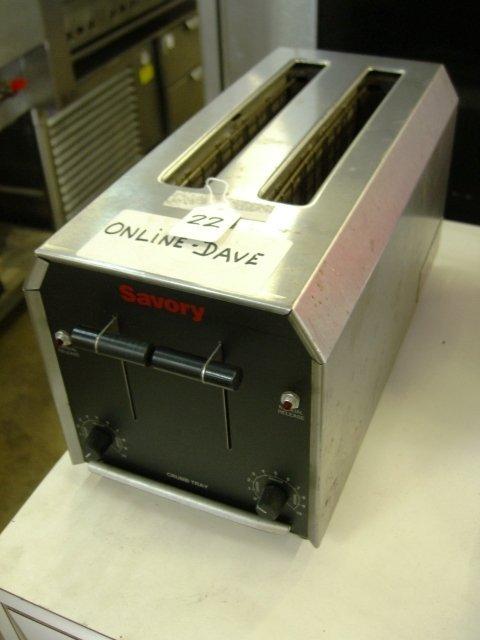 22: Savory POP2-4 2 Slice Pop Up Toaster