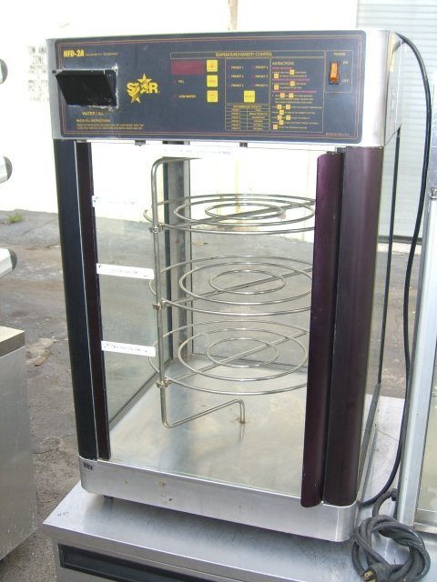 31: Star HFD-2A Humidity Pizza Display Cabinet