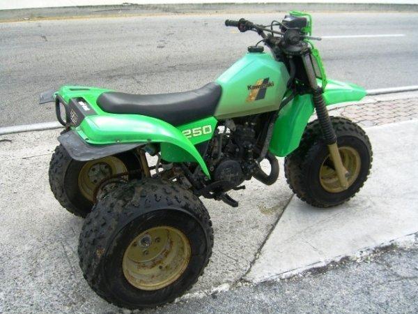 1: 1984 Kawasaki 250 ATC