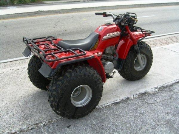 2: 1985 Honda Big Red ATC