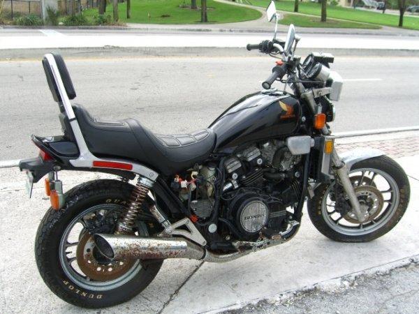 3: 1984 Honda Motorcycle