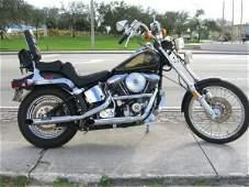 4: 1985 Harley Davidson Softail Motorcycle